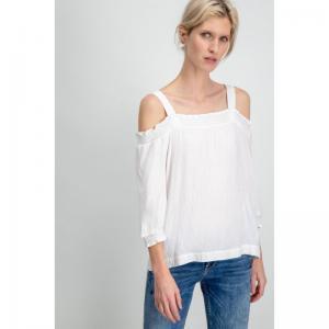 123480 06 [Ladies-Shirt l. sl. logo